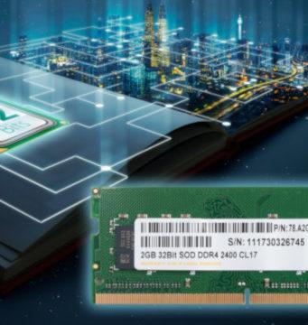Primera memoria SODIMM DDR4 de 32 bit