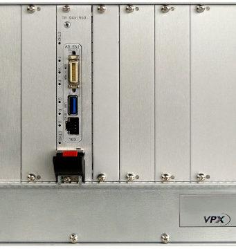 Sistema de desarrollo VPX 3U con cuatro slots periféricos