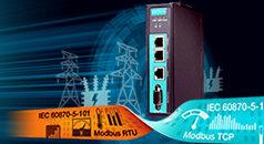 Gateways con protocolo Modbus/IEC 101-a-IEC 104