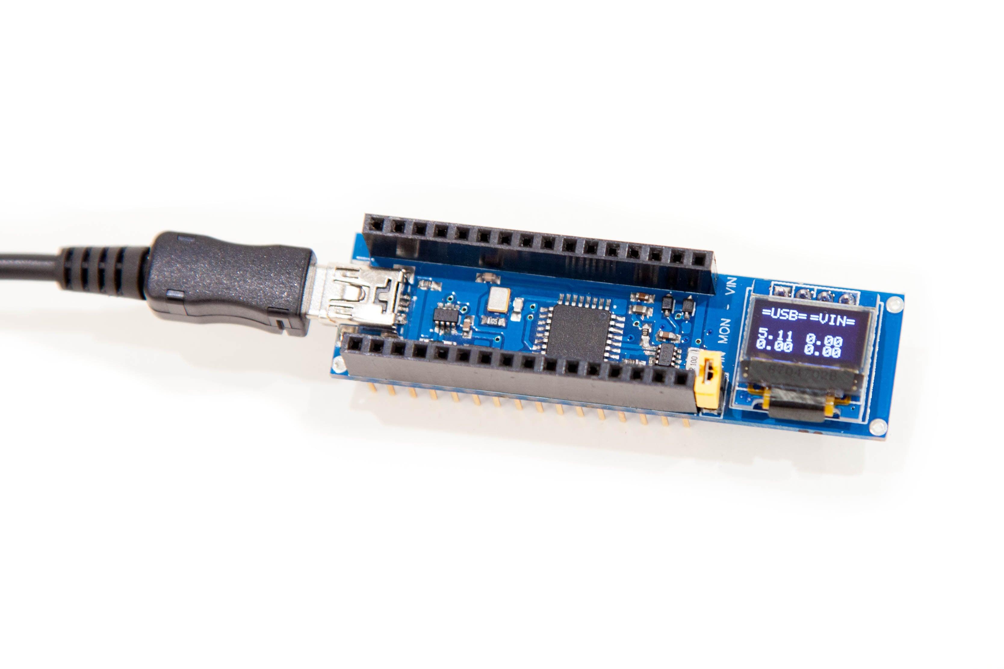 Escudo para monitorización de potencia