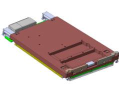 Tarjeta VPX 3U rugerizada con soporte para 40G Ethernet