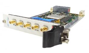 Módulo transceptor RF dual con conector VITA 67.2