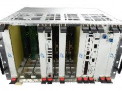 Chasis VPX 6U con E/S de fibra óptica