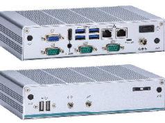 Box PC quad-core fanless para IIoT