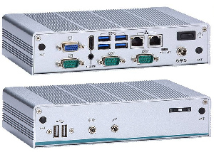 Box PC quad-core fanless para IIoT
