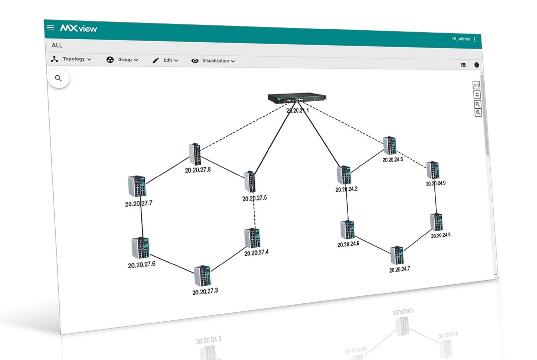 Software para gestión de redes industriales