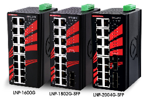 Switches Gigabit no gestionados con PoE