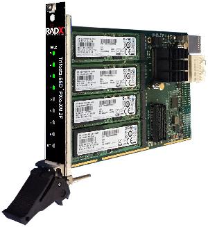 Módulos COTS PXIe SSD RAID