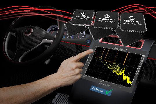 Controladores táctiles capacitivos para pantallas