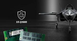 Módulo DRAM XR-DIMM con certificación RTCA DO-160G