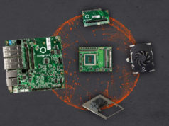 Ecosistema de 100 W para servidores integrados