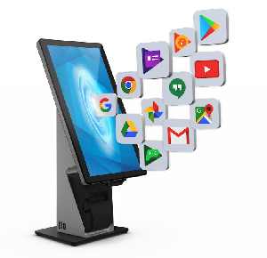 "Monitores de 70"" con Google Play Services"