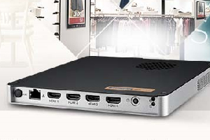 Reproductor digital 4K para cuatro pantallas