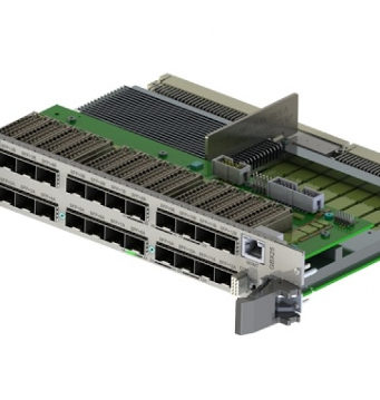 Switch Ethernet 6U para sistemas VME