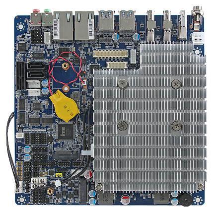 Tarjeta Thin Mini-ITX para aplicaciones industriales