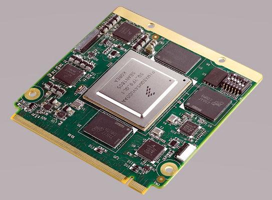 Módulo Qseven NXP i.MX8 QuadMax