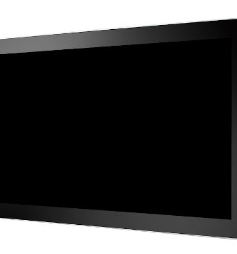 "Pantalla LCD sin marco de 24"""