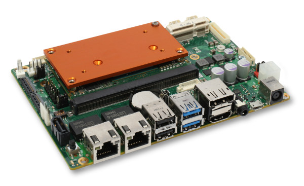 Tarjeta CPU modular estandarizada