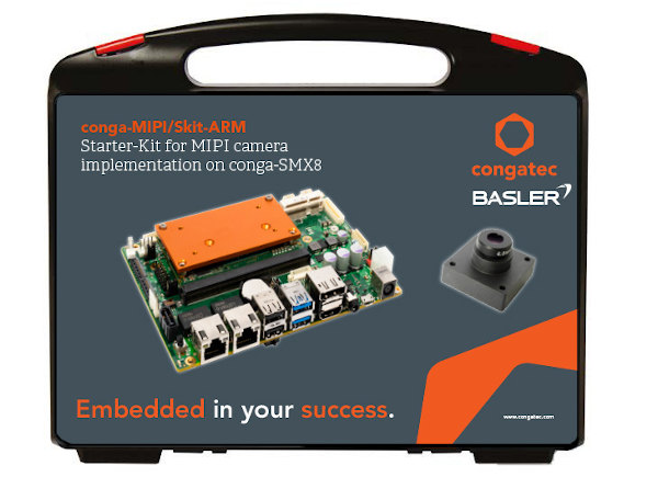 Kit de inicio para cámaras MIPI