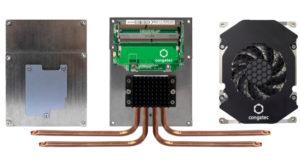 Refrigeración para procesadores embebidos