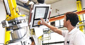 Monitores industriales IP65 para aplicaciones PoS