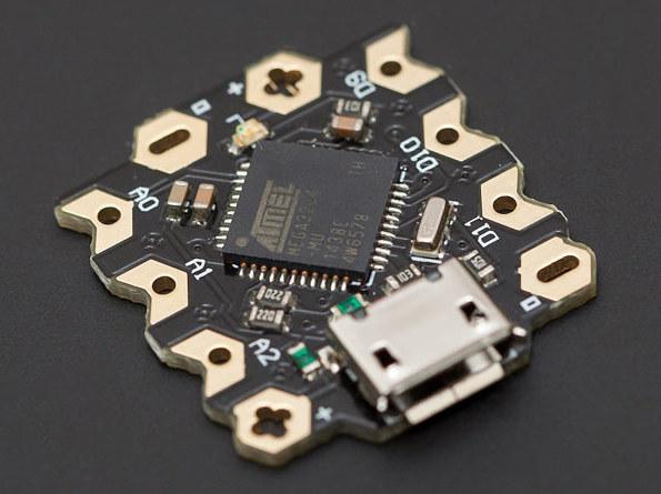 Placa Arduino Leonardo ultra pequeña