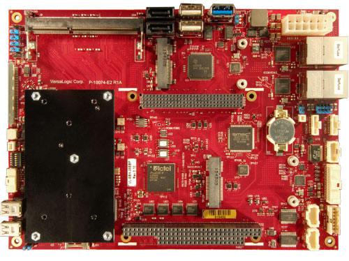 SBC con interfaz de expansión PC/104