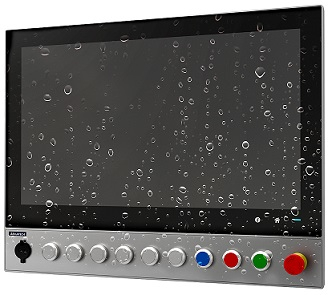 Monitores para interfaces HMI