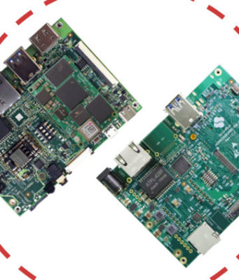 Familia de placas SoM para aplicaciones de inteligencia artificial