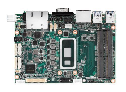 """SBC de 3.5"""" de alto rendimiento con procesadores de octava generación"""