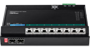 Switches de acceso frontal para redes industriales