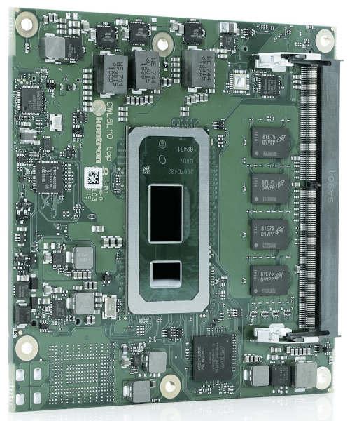 Ordenador industrial COM Express Compacto de Tipo 6