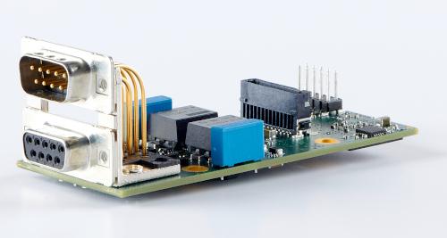 Módulo de interfaz CANbus para ferrocarriles y automóviles