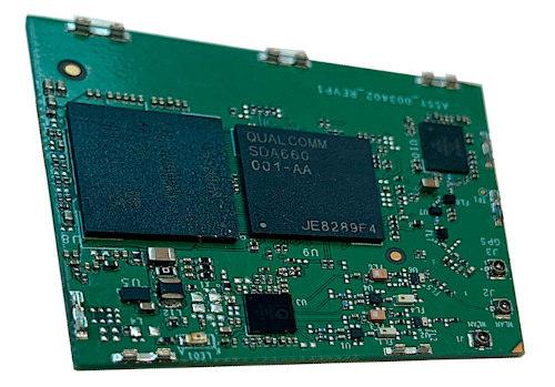 SoM ARM para computación visual