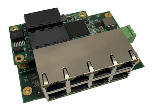 Tarjeta de switch Ethernet militar para embeber