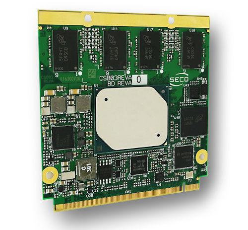 Módulo Qseven compatible Rel. 2.1 con procesadores Apollo Lake