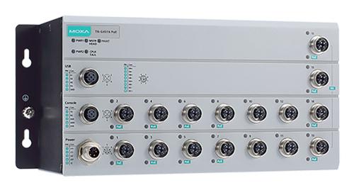 Switches multi-Gigabit Layer 2 para el sector ferroviario