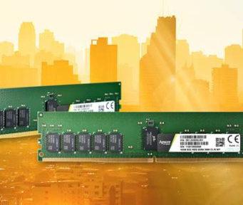 Memorias DDR4 de grado industrial para servidores