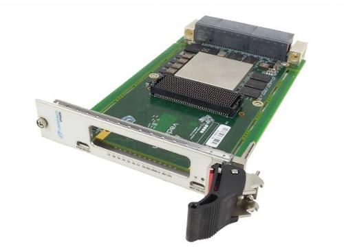 Tarjeta portadora FPGA VPX 3U con interfaz VITA-57.4