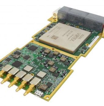 ADC dual con ratios de muestreo de hasta 6,4 GSPS a 12 bits