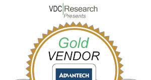 Advantech obtiene el premio de oro de VDC Research