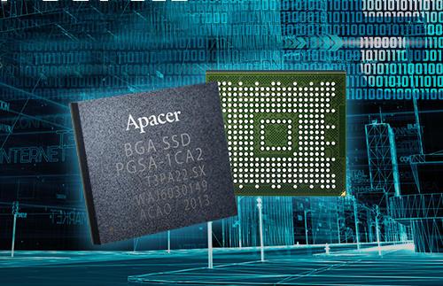 SSD BGA PCIe de grado industrial