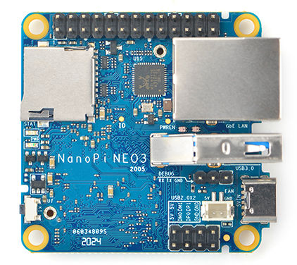 SBC compacto ARM para Linux