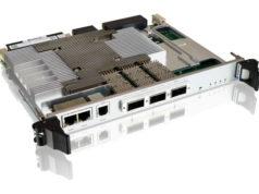 Switch Ethernet 40G/100G L2/L3 con formato 6U VPX