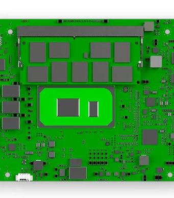 Módulos CoM-HPC con procesadores intel de XI generación