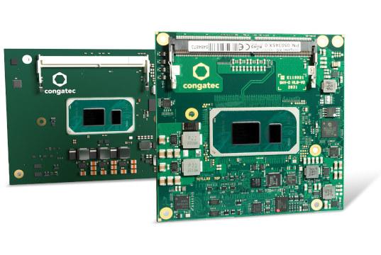 Módulo COM-HPC y COM Express de 11ª generación