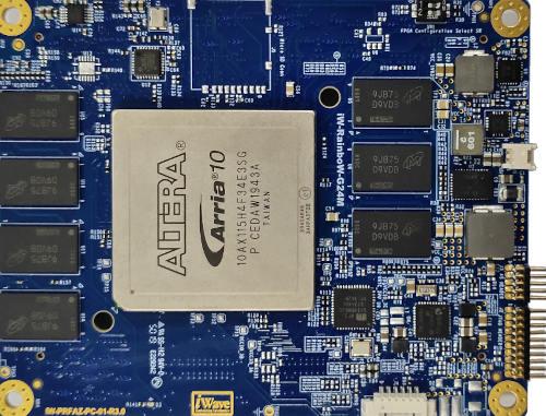 SOM basado en Arria 10 GX FPGA