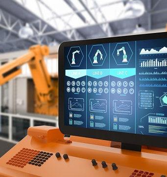 Monitores táctiles industriales