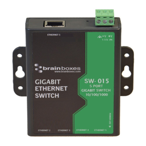 Switch de cinco puertos Gigabit Ethernet