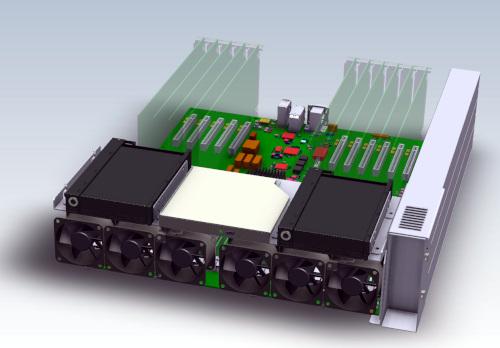 Servidor 3U con placa madre Intel Xeon